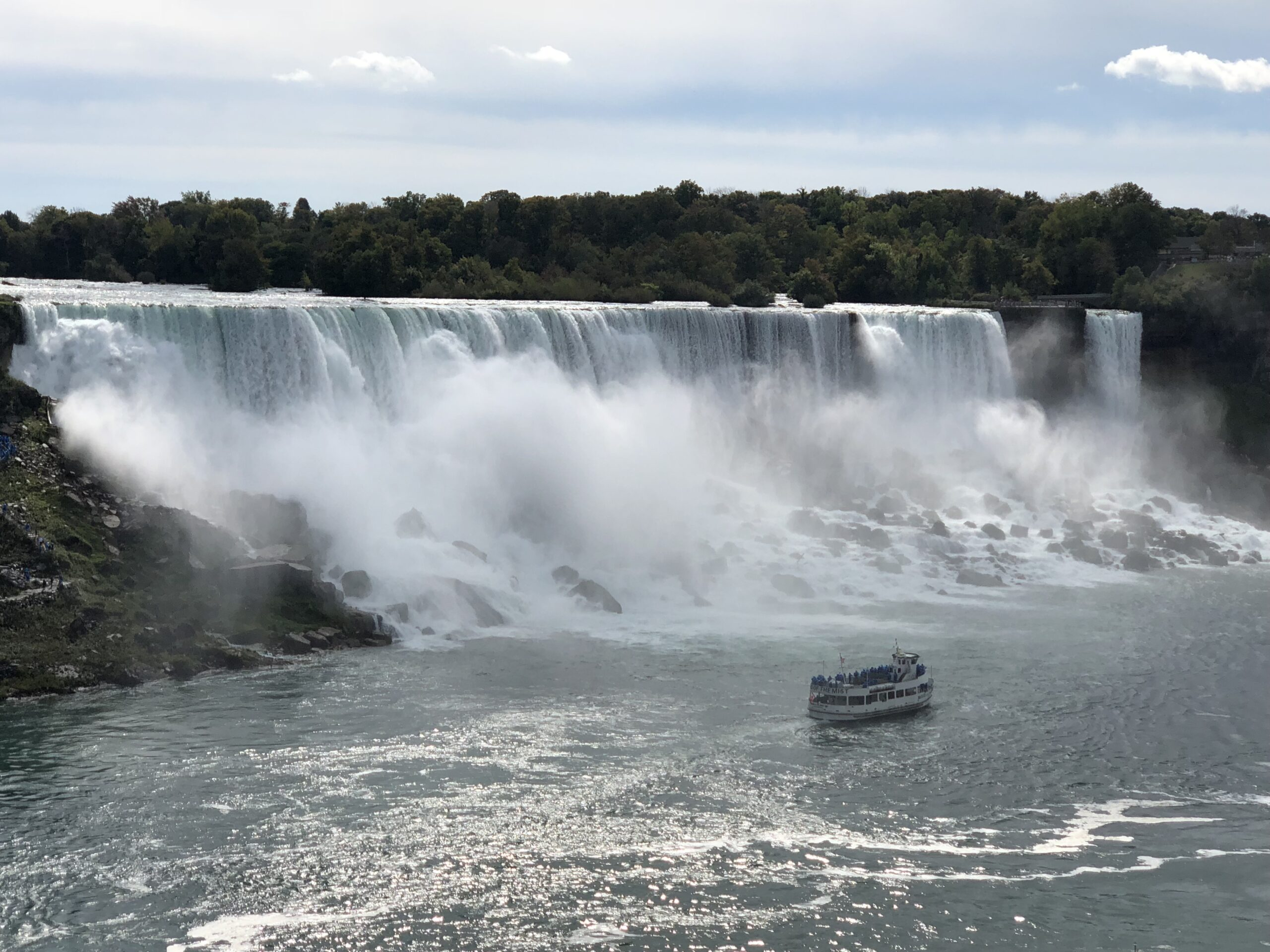 Picture at Niagra Falls