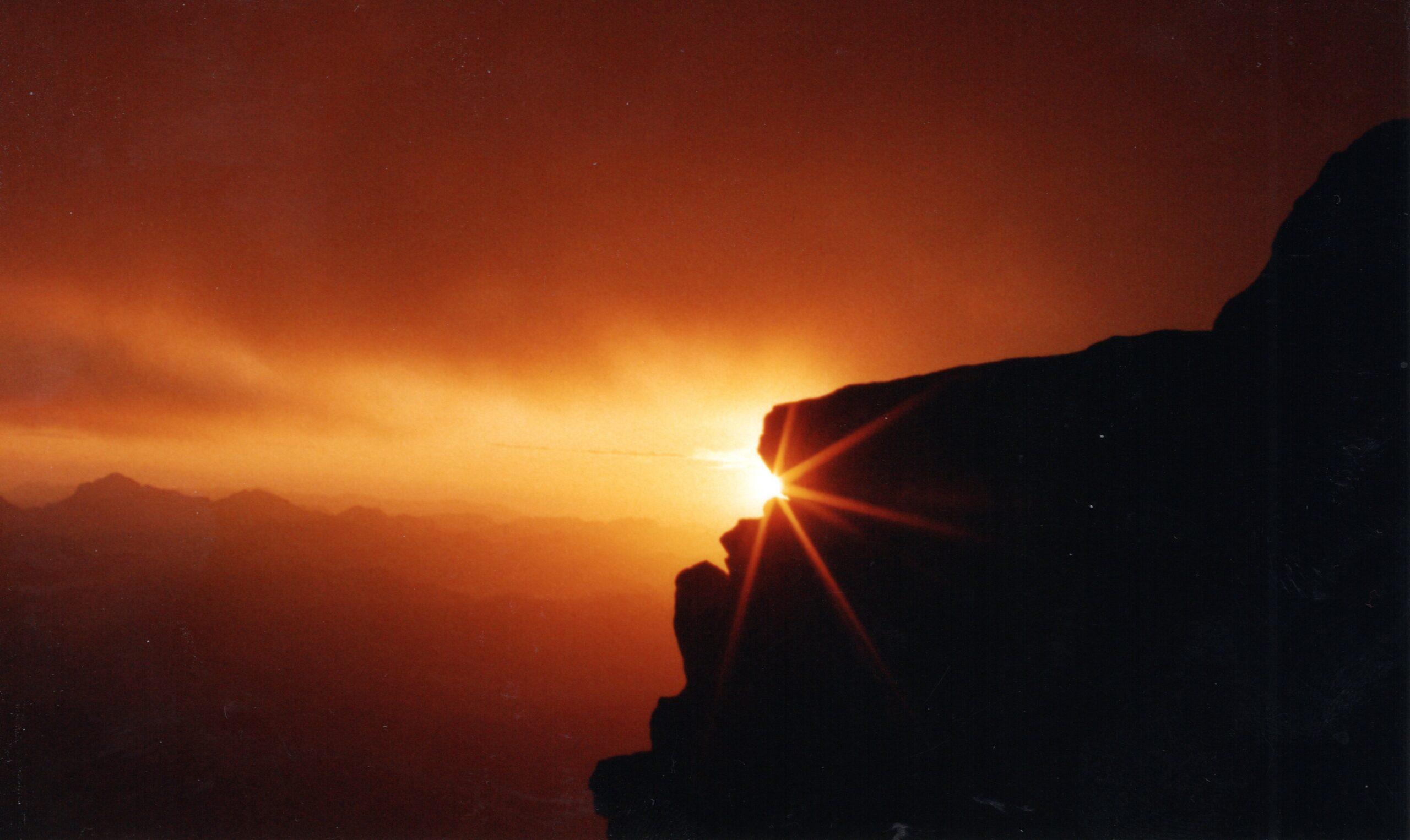 Picture at Mount Sinai